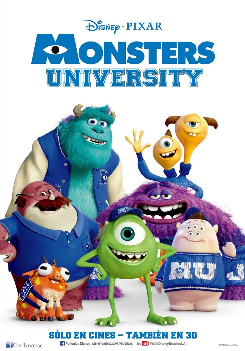 1000+ images about Monster University on Pinterest | Monster university