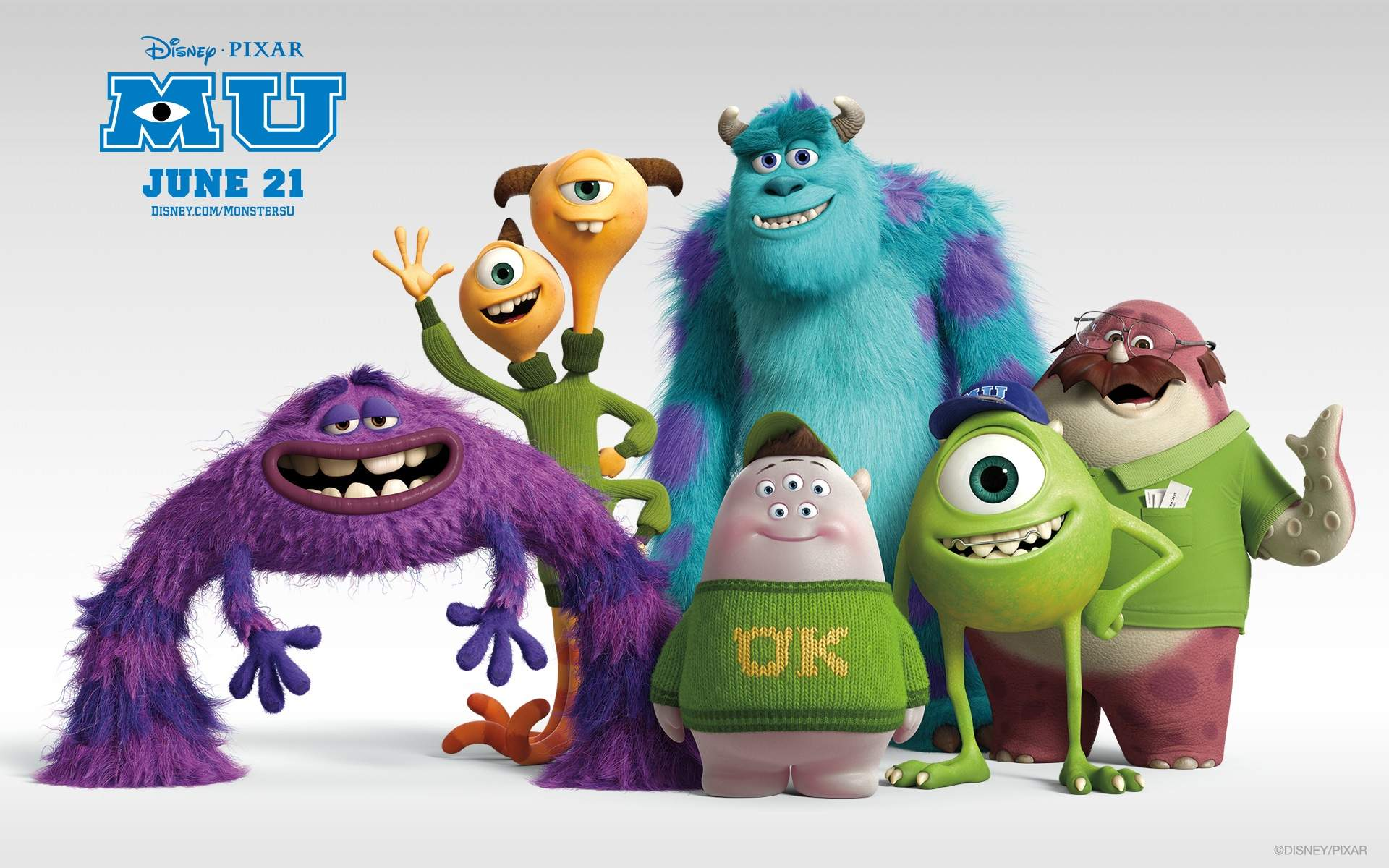 Box office and Mike and sulley