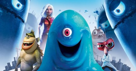 Wallpaper monsters vs aliens 01 160