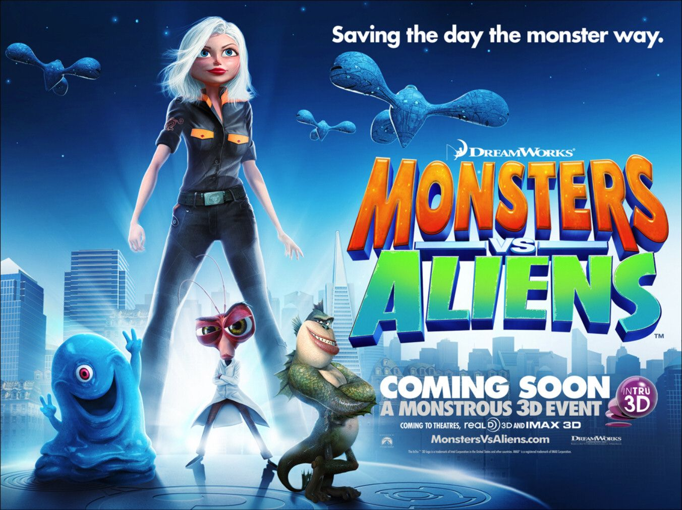 View Original Image. Monsters vs Aliens ...