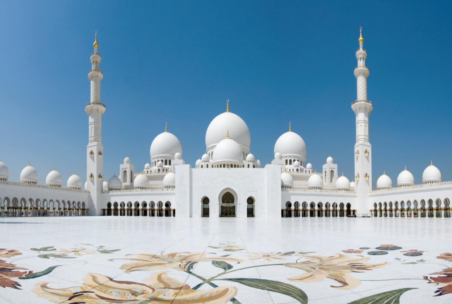 CFD services at Grand Mosque