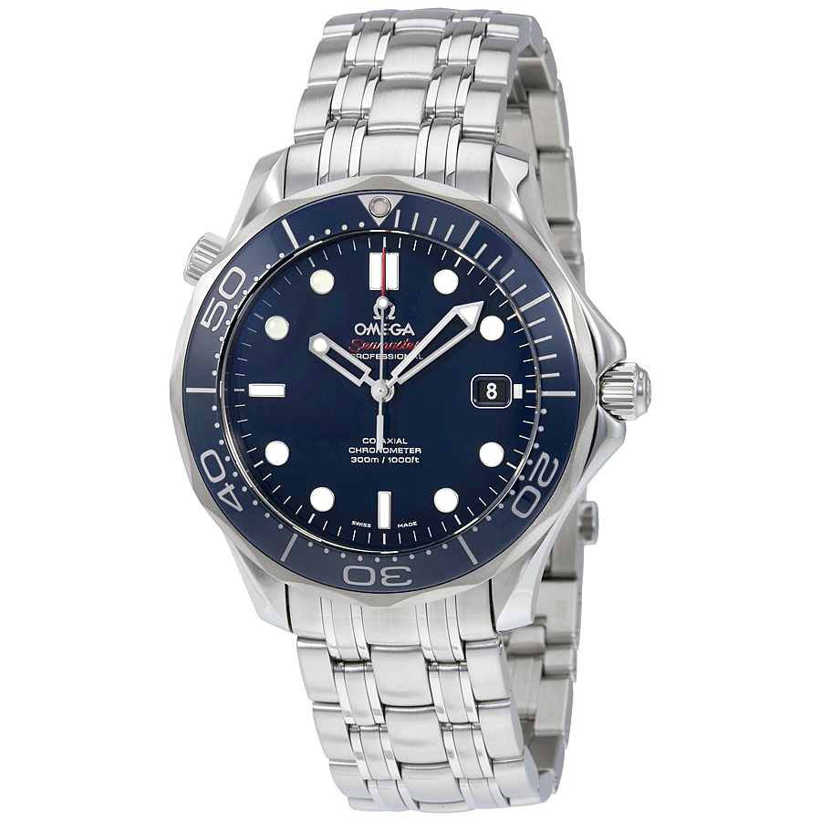 Omega Seamaster Automatic Blue Dial Menu0026#39;s Watch