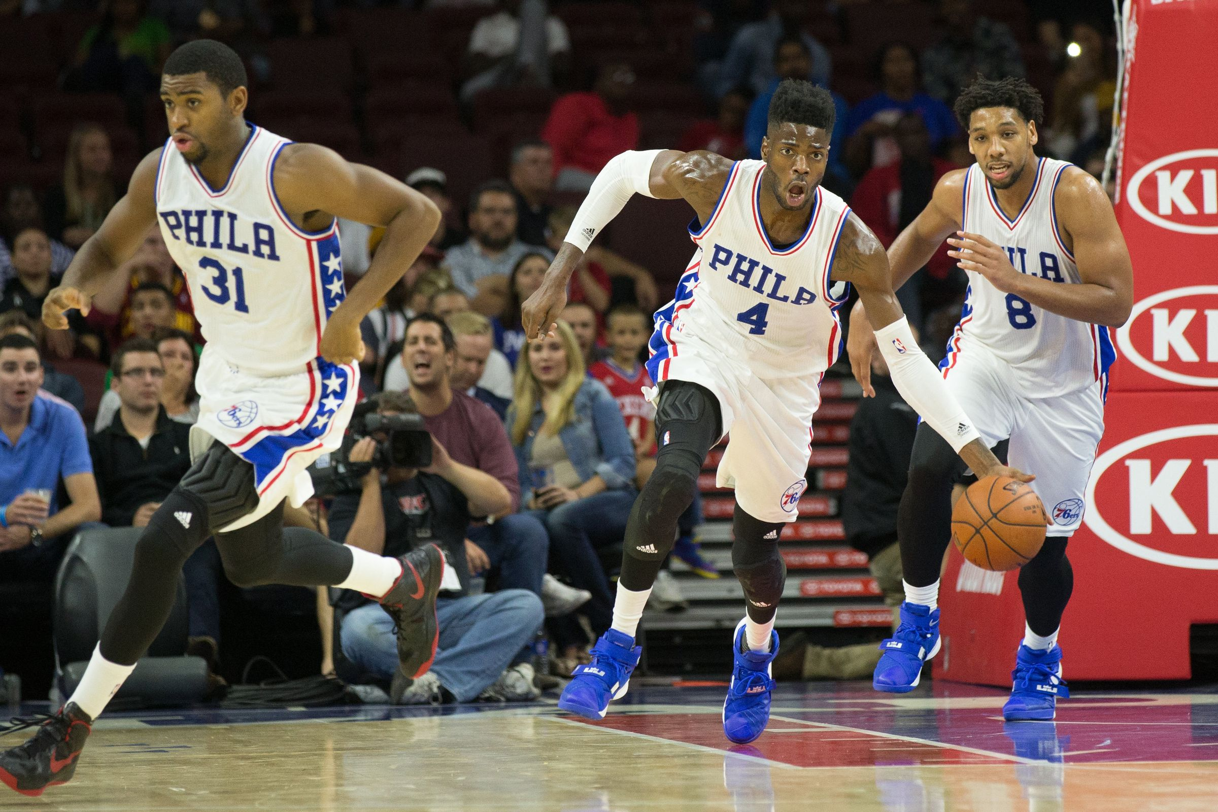 The Philadelphia 76ers will need to get moving if they hope to not finish with one