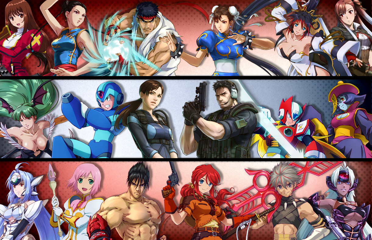HDQ Live Project X Zone Backgrounds