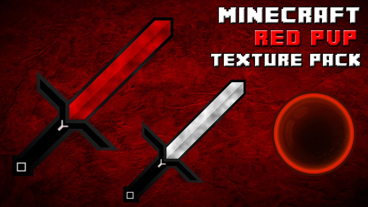 Minecraft Red PvP Texture Pack {Low Fire
