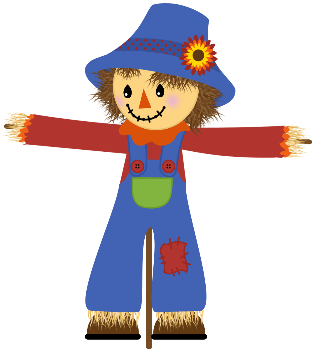 no the scarecrow thing