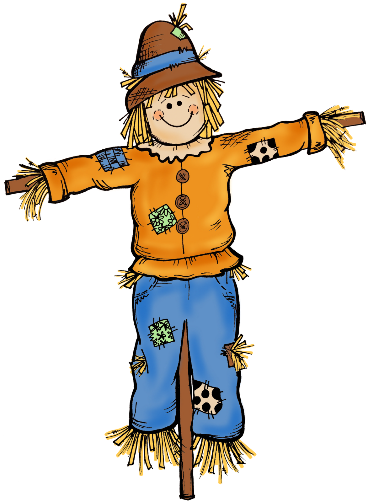 How To Build A Scarecrow