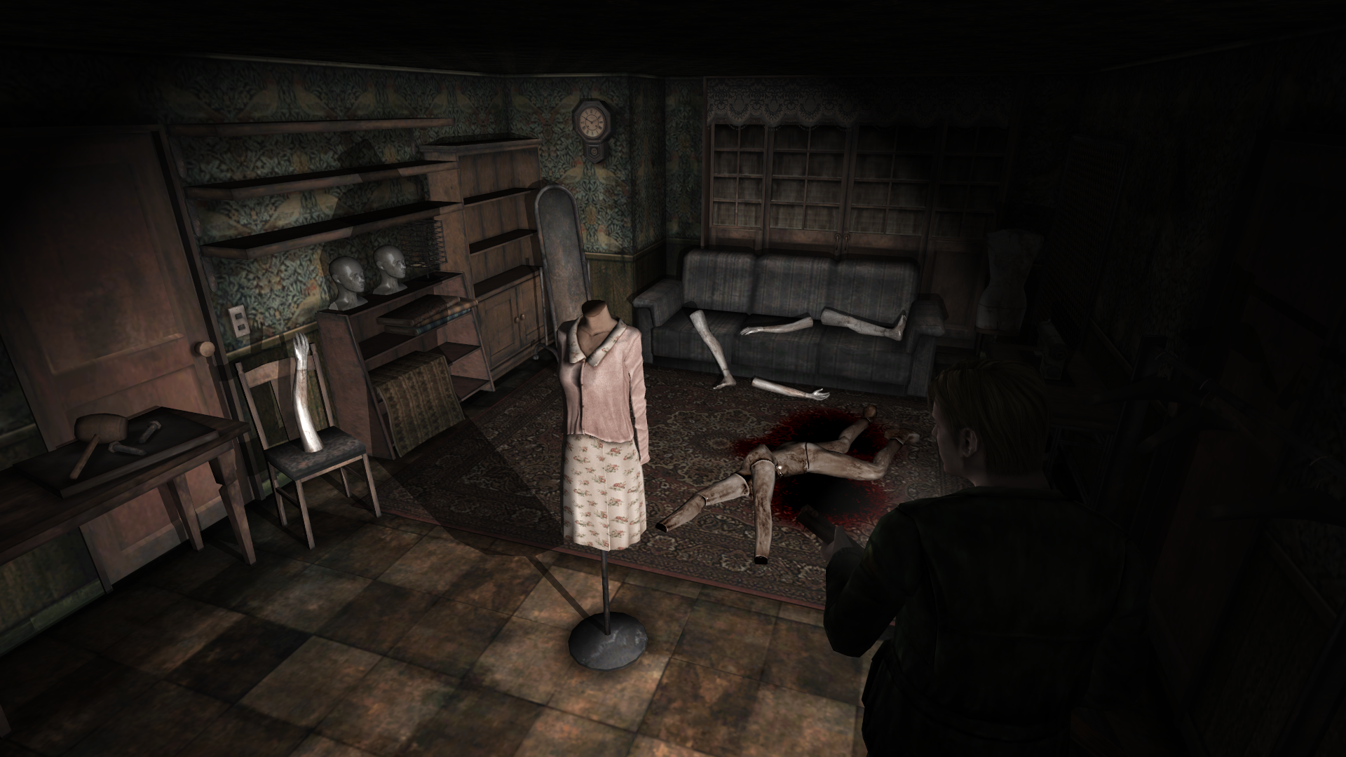 silent hill 2 doll