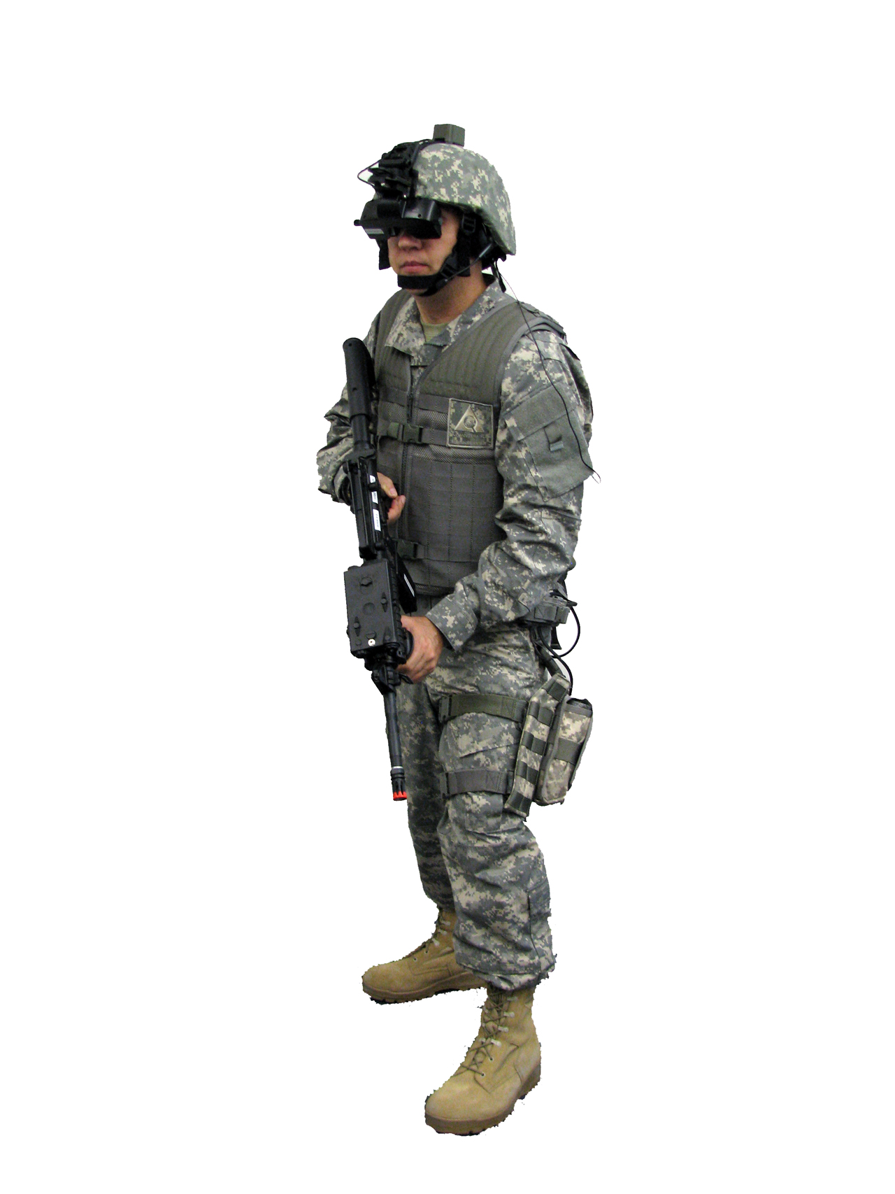 Dismounted Soldier - Gear #1