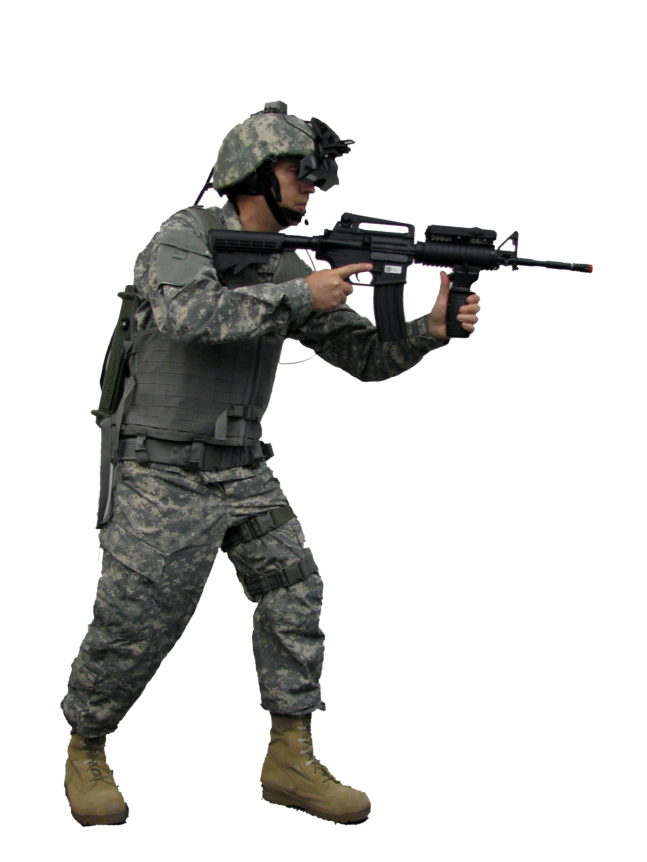 Dismounted Soldier - Gear #2