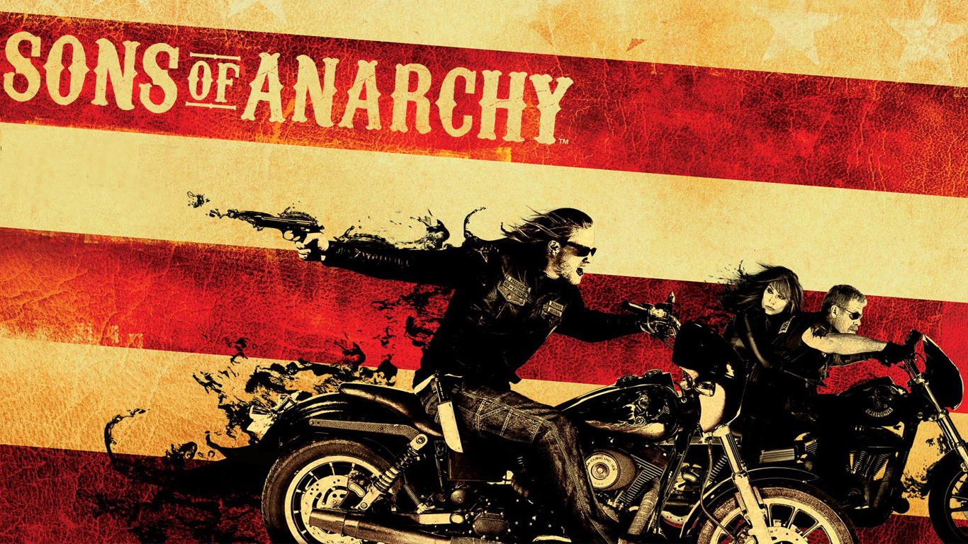 Sons of anarchy and TVs
