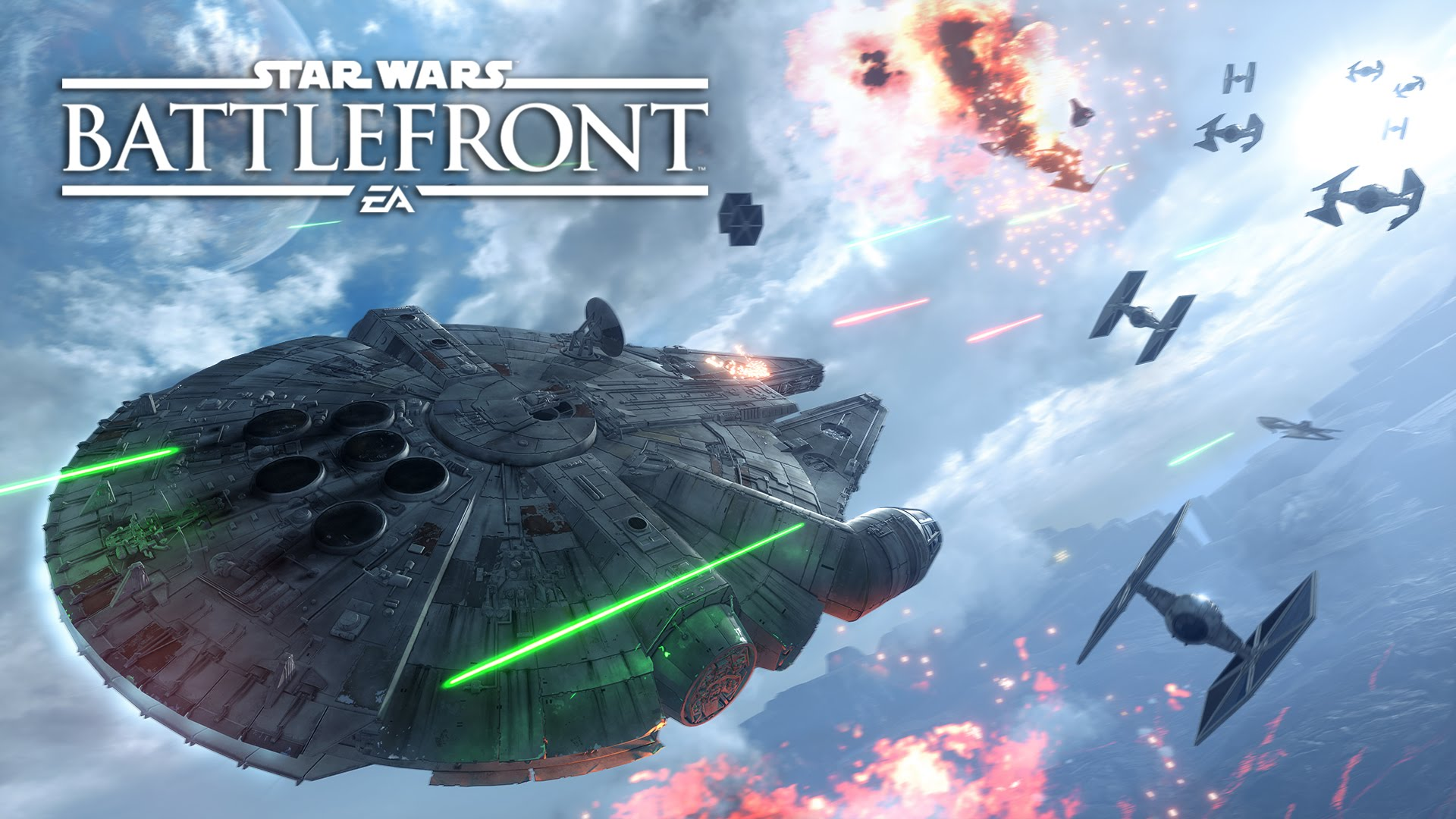 Star Wars Battlefront: Fighter Squadron Mode Gameplay Trailer - YouTube