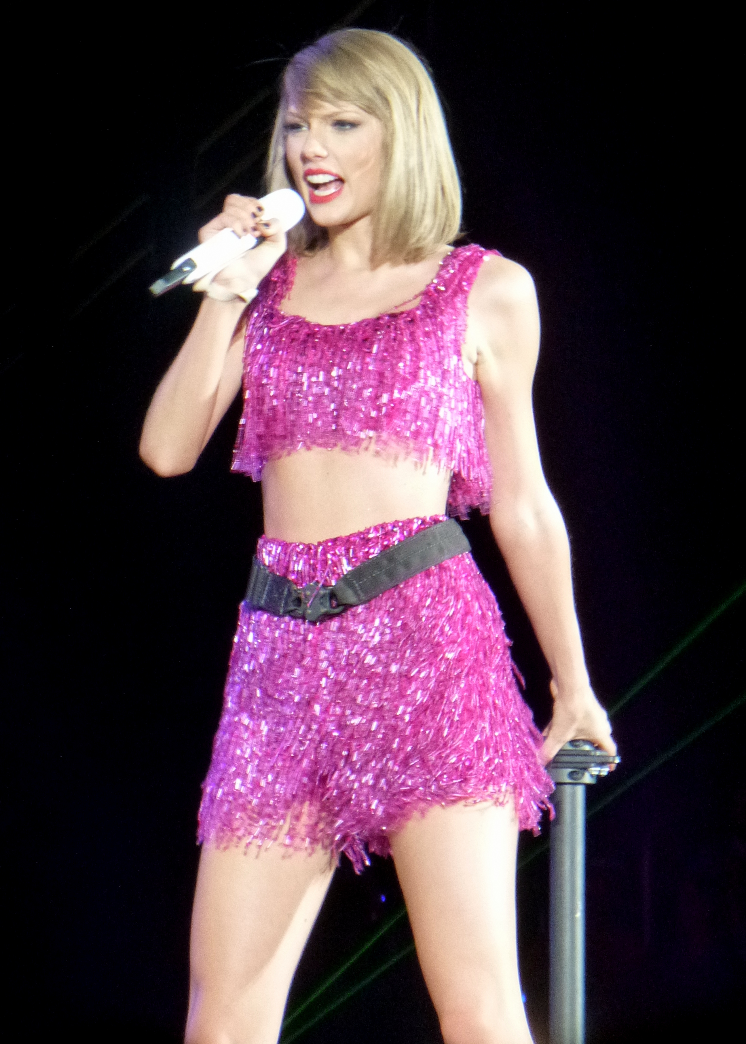 A photograph of Taylor Swift
