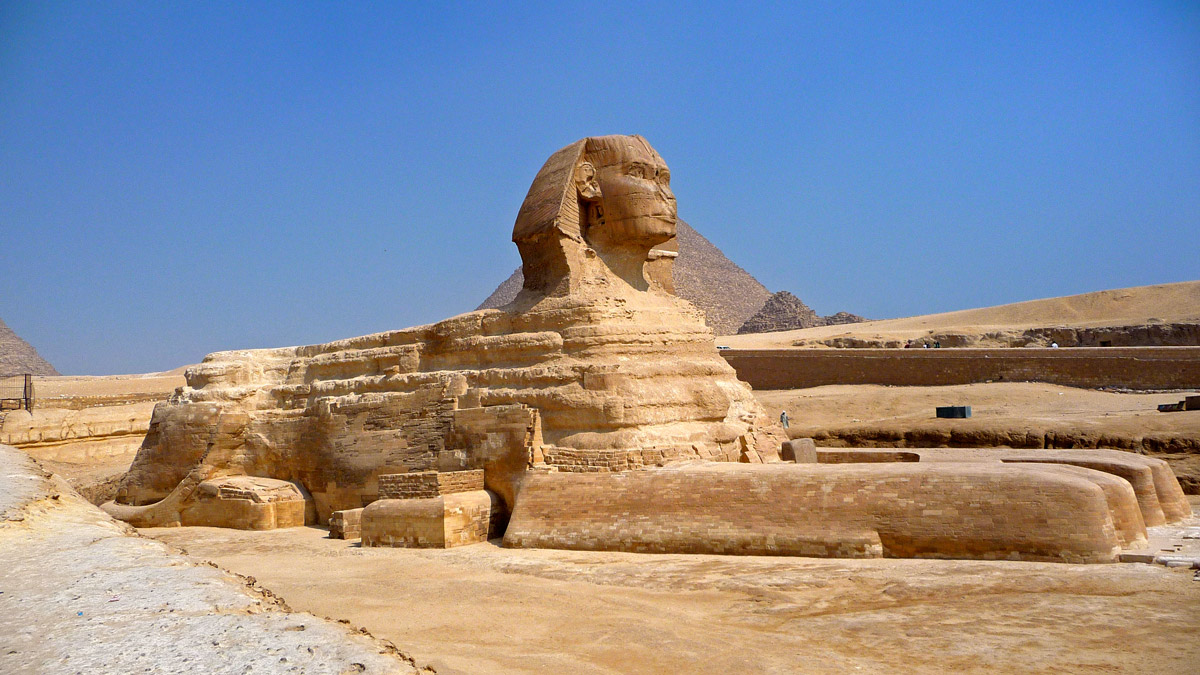 Great Sphinx in Giza