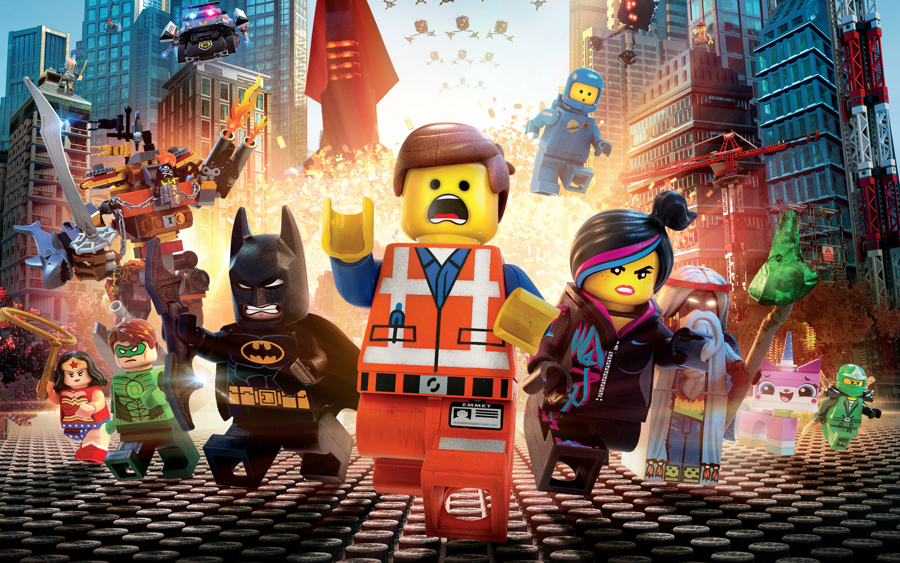 The lego movie 2014 wide