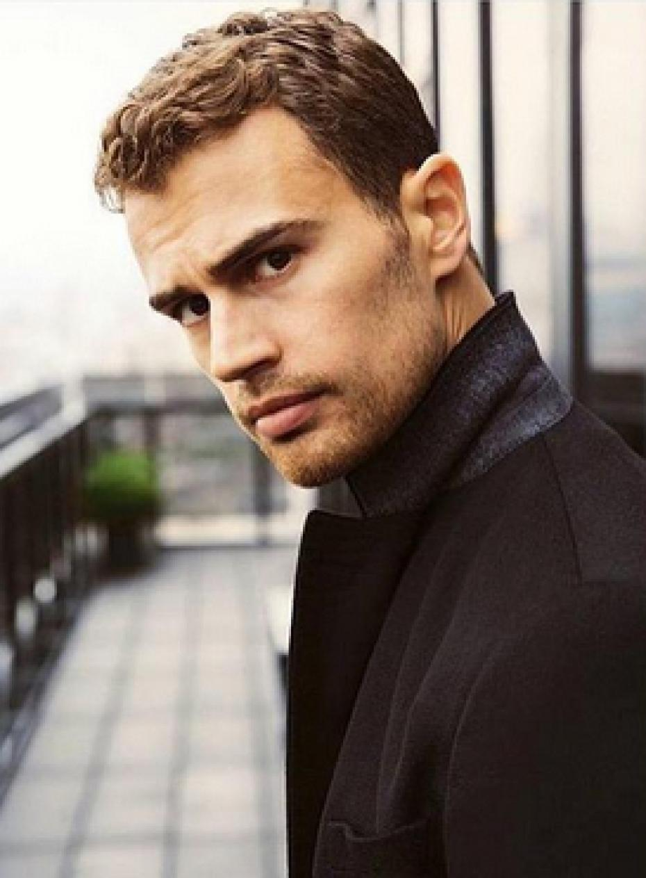 Theo James as Luke in The Benefactor