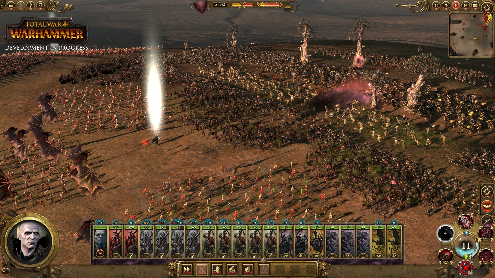 Total War: Warhammer - and this isnu0026#39;t even a particularly big battle