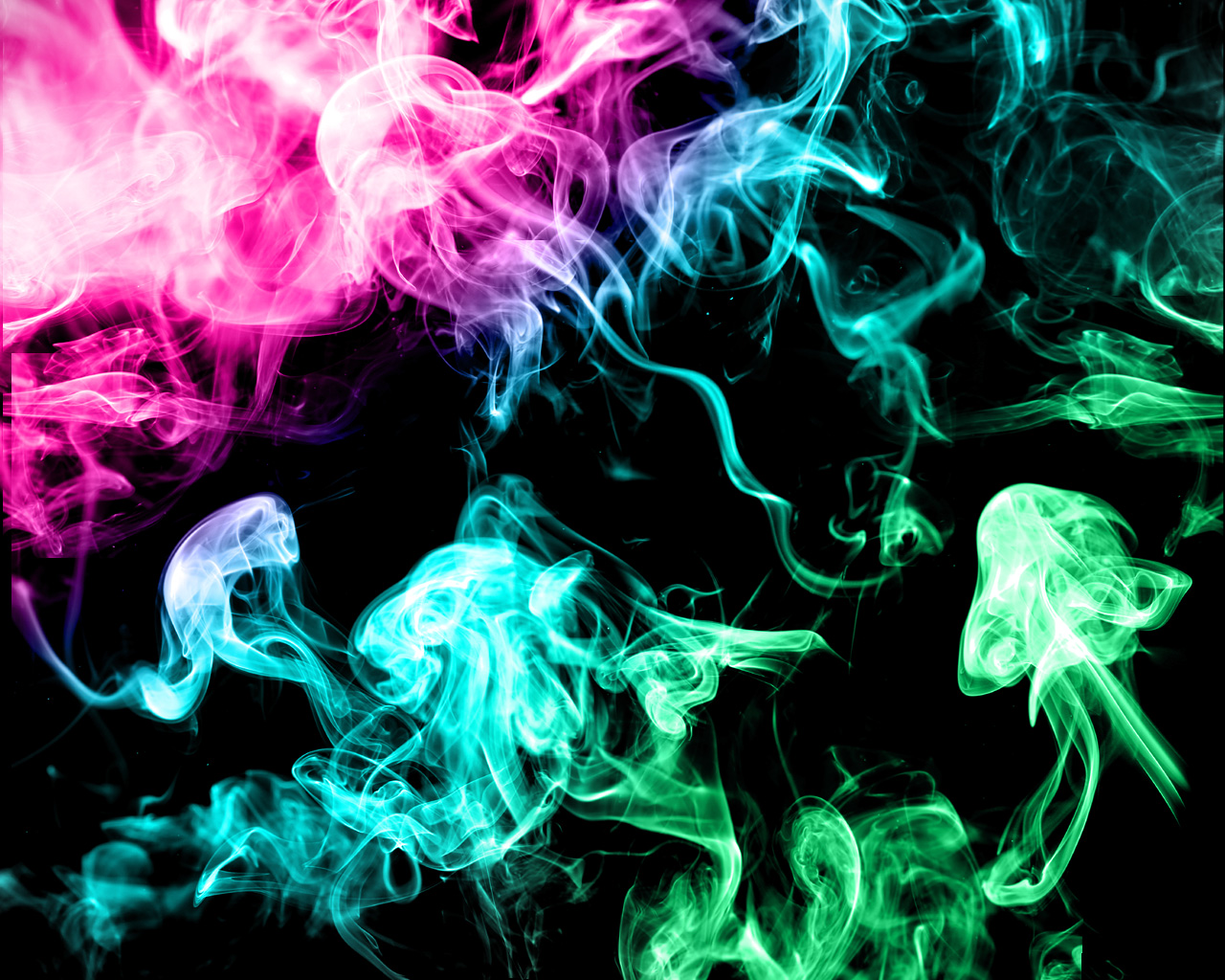 Colored Smoke Tumblr