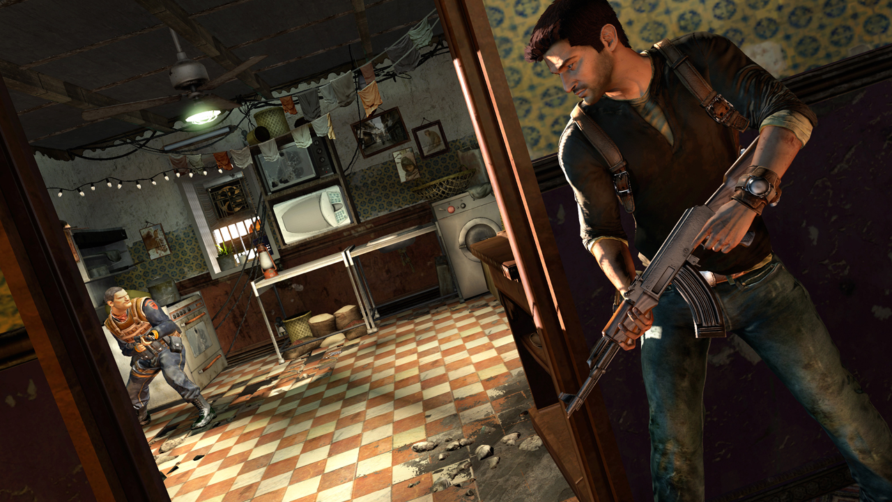 UNCHARTED 2 AMONG THIEVES 4