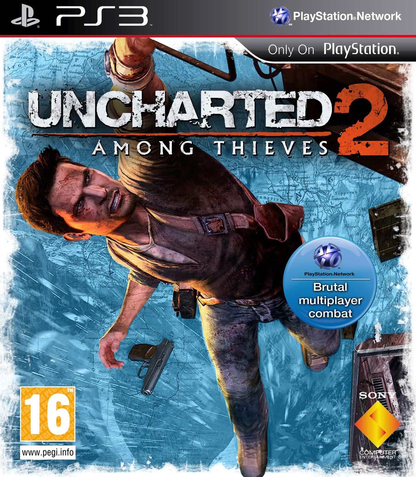 UNCHARTED 2 AMONG THIEVES cover