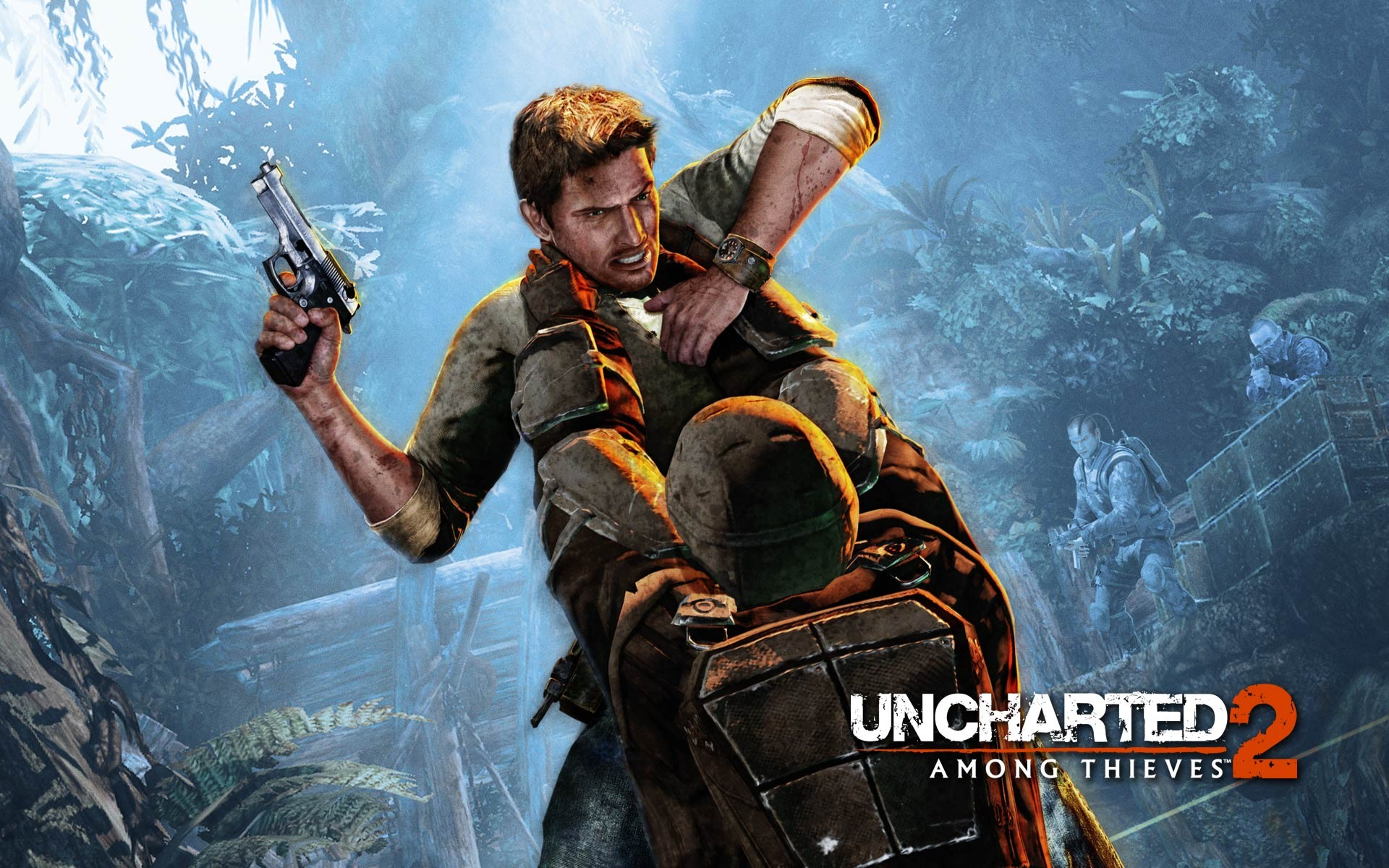 uncharted 2: among thieves wallpaper uncharted 2: among thieves wallpaper ...