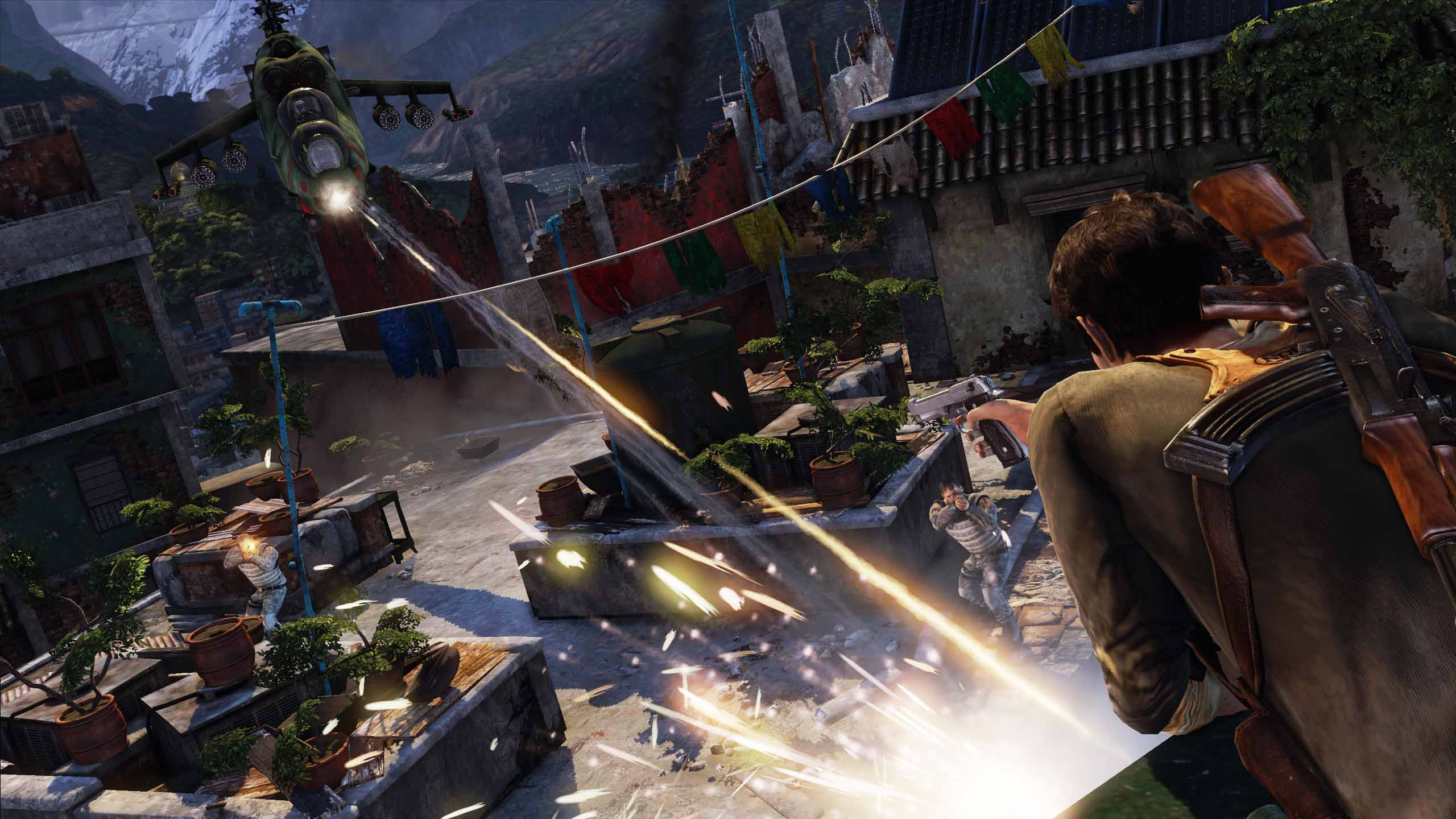 Some of these predicaments are frankly insane. Some of these predicaments are frankly insane. Uncharted 2: Among Thieves ...