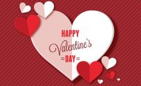 ... Happy Valentines Day Background ...