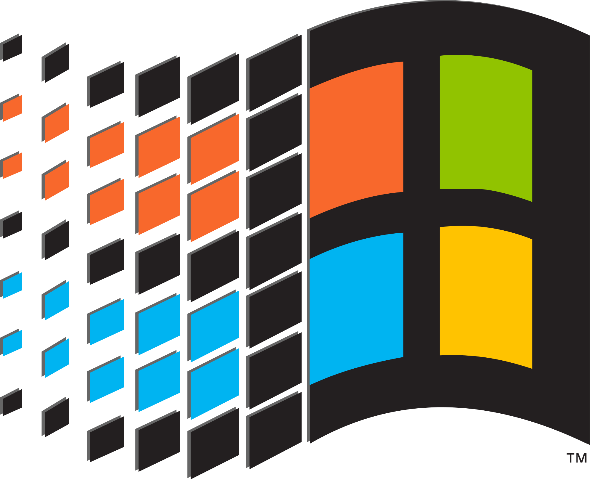 Windows logo (Pre-XP) alt. color.svg