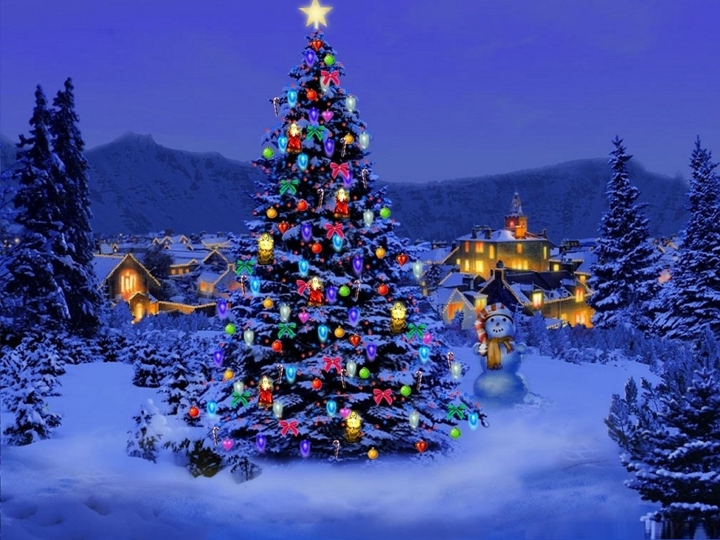 3D Christmas Wallpaper
