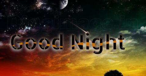 3D Good Night Wallpaper