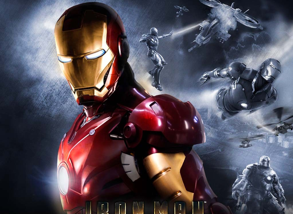 3D Wallpaper Iron Man