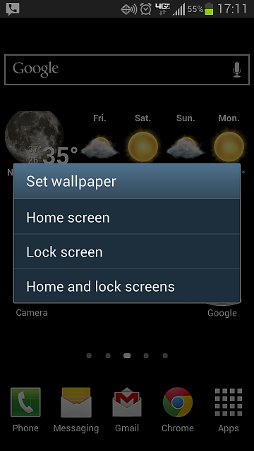 Android Lock Screen Wallpaper Changer