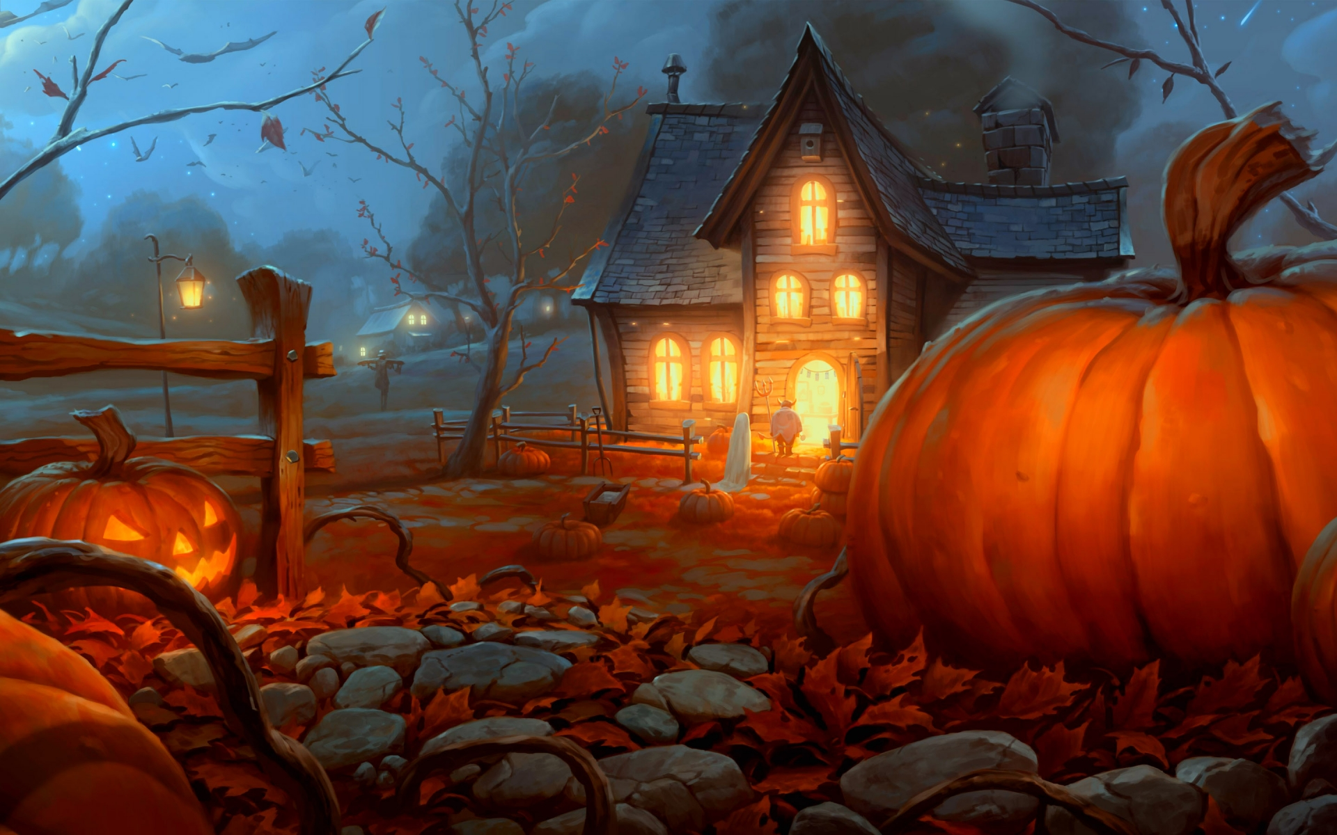 Animated Halloween Wallpapers