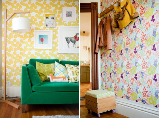 Stunning Removable Wallpaper For Apartments Pictures - Decoration ...
