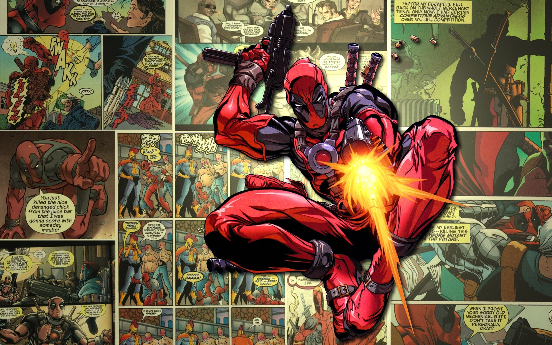 Awesome Comic Book Wallpapers