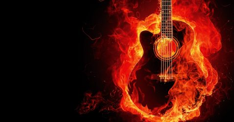 Awesome Guitar Wallpaper