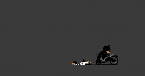 Baby Batman Wallpaper