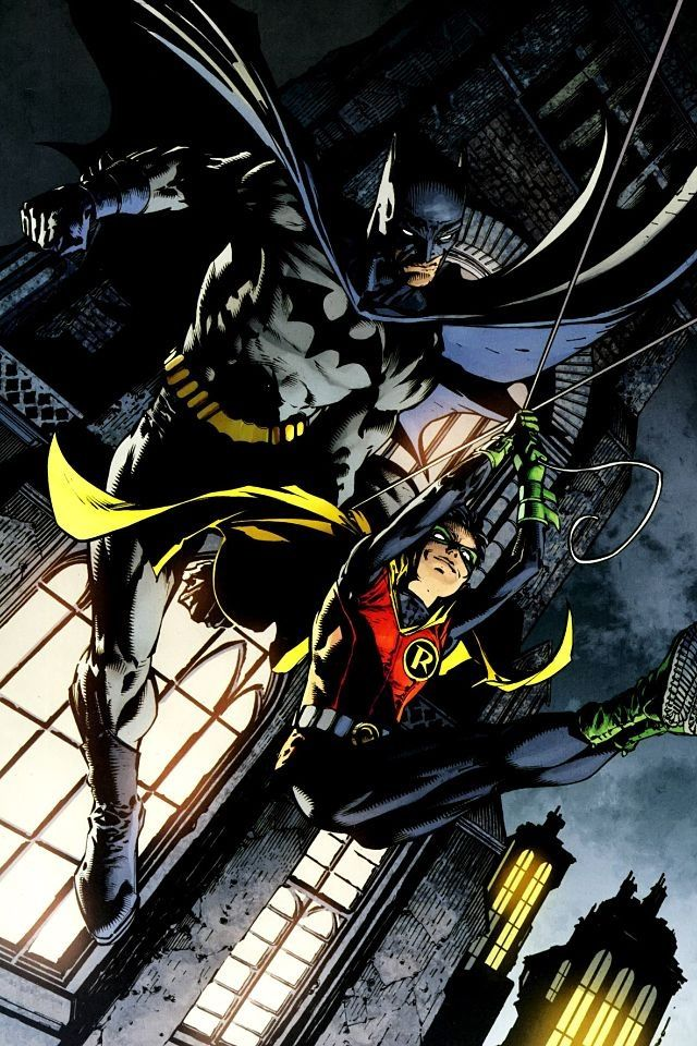 Batman And Robin Iphone Wallpaper