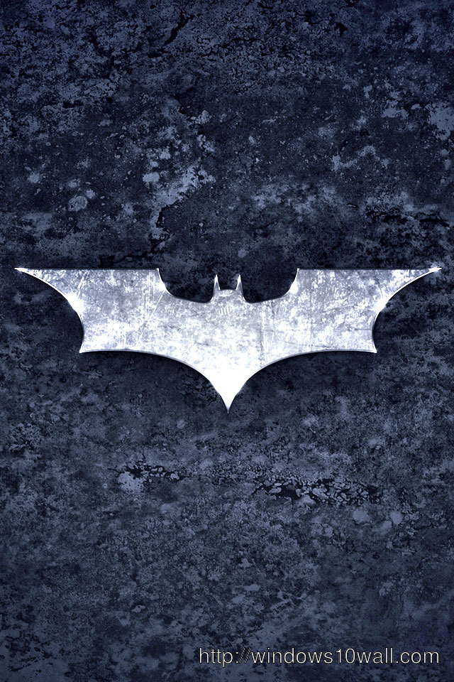 Batman logo wallpaper for iphone