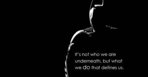 Batman Quotes Wallpaper