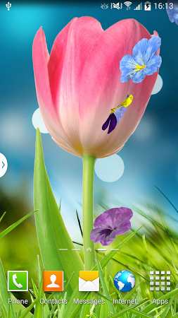 Beautiful Flowers Live Wallpapers