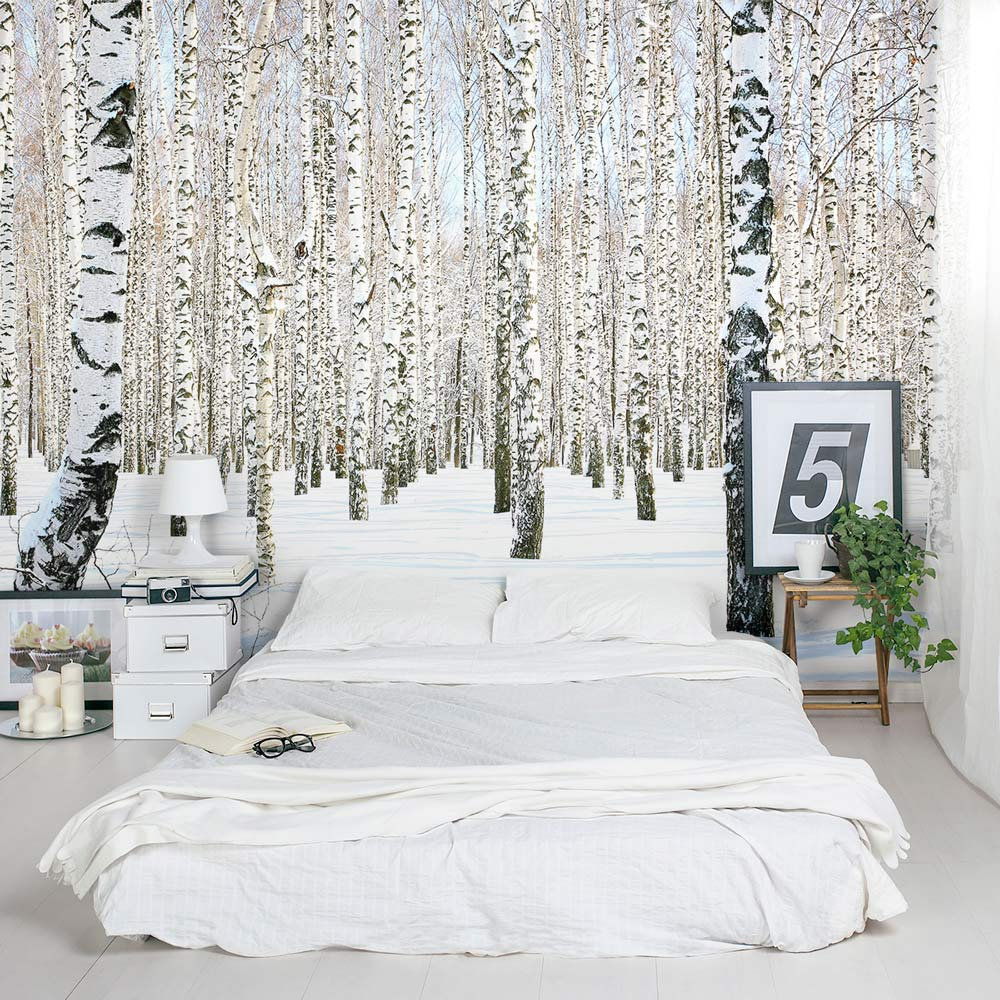 Birch Tree Removable Wallpaper