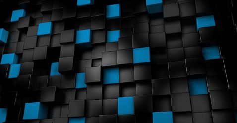 Black And Blue Wallpaper