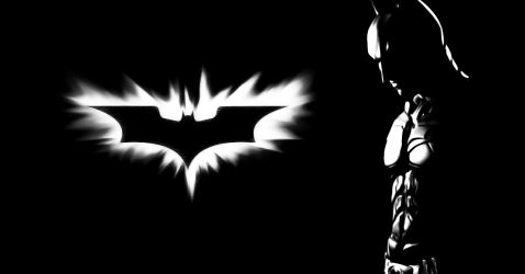 Black And White Batman Wallpaper