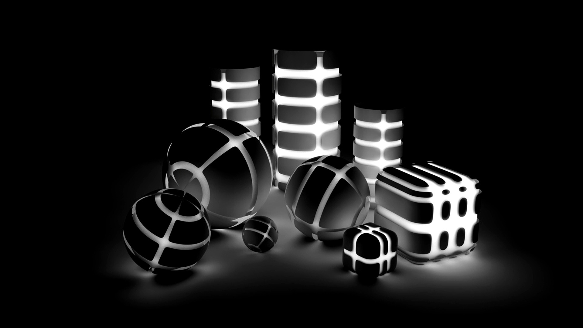 Black And White Hd Wallpapers Black Background
