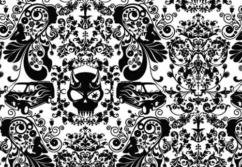 Black And White Wallpaper Designs