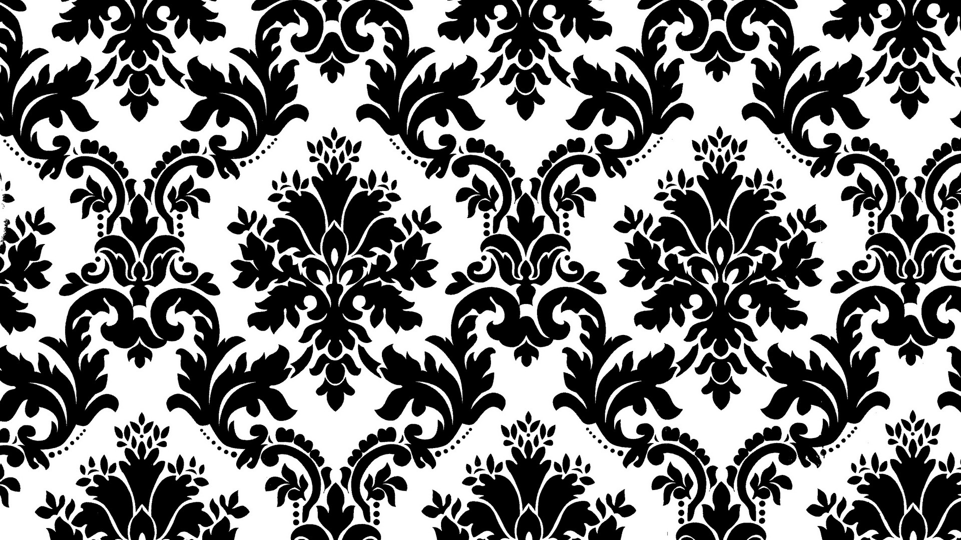 Black And White Wallpaper Patterns