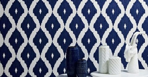 Blue Removable Wallpaper