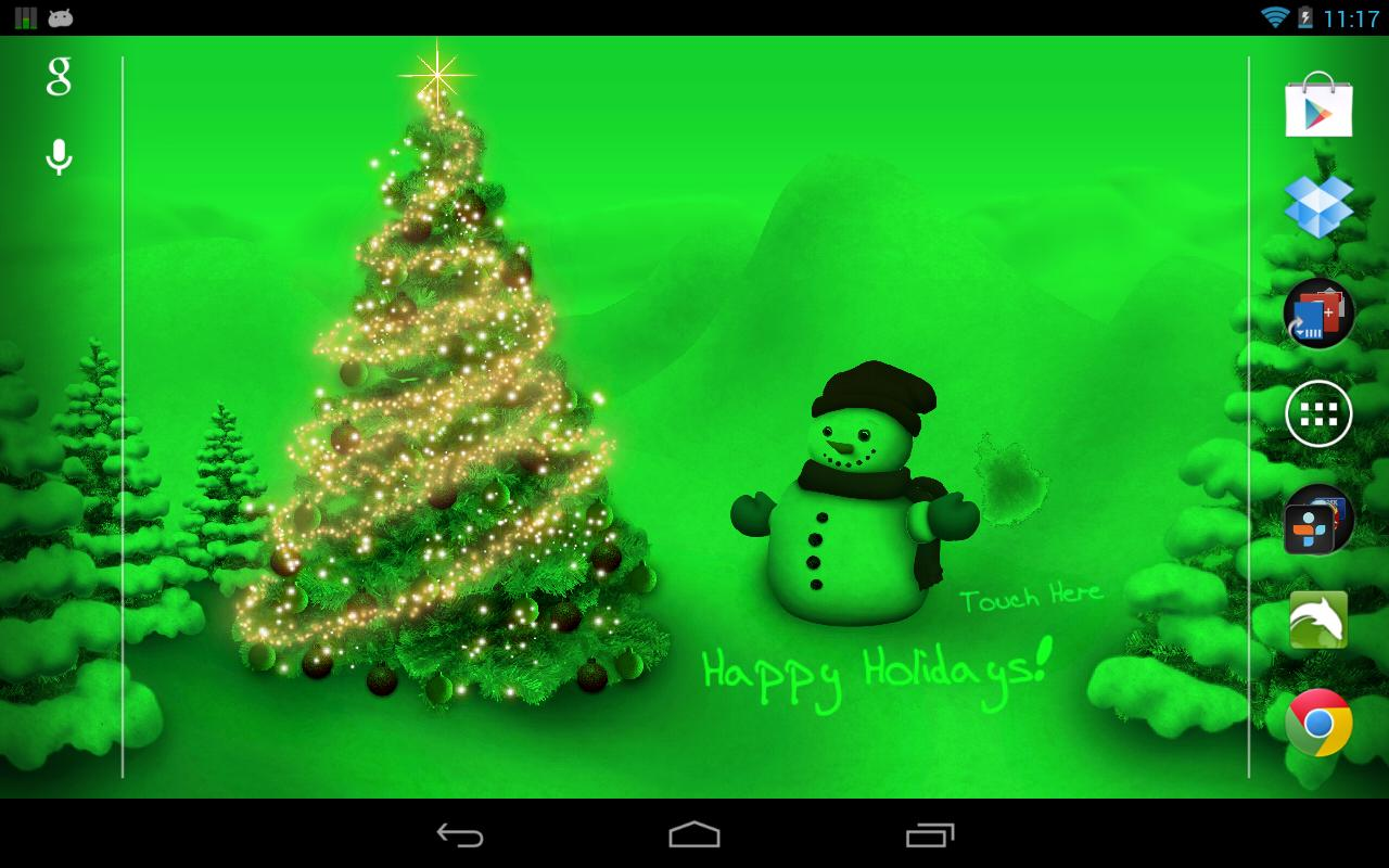 Christmas Countdown Live Wallpaper For Desktop