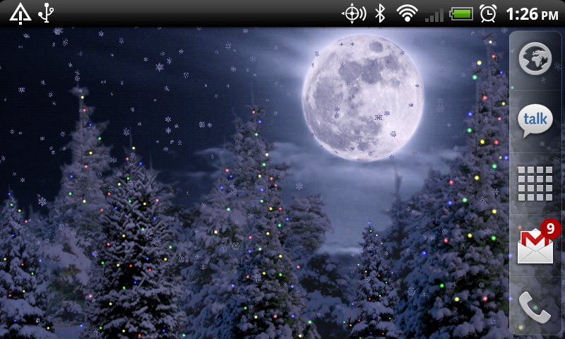 Christmas Lights Live Wallpaper
